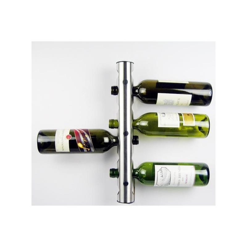 Moderní nástěnný držák na láhve