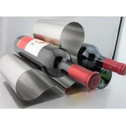 Stojan na víno z nerezové oceli