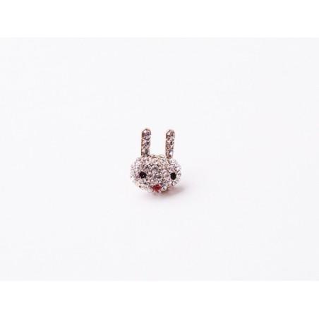 Mini Brosche Kaninchen