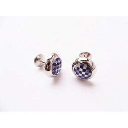 Manžetové gombíky elegantné s perleťou