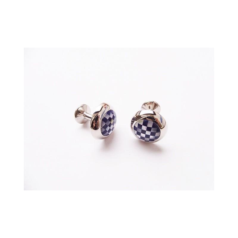 Manžetové knoflíčky elegantní s perletí