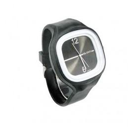 Silikon Uhr schwarz