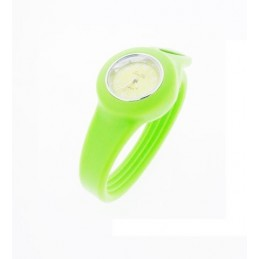 Hellgrün Silikon Uhr