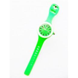 Grün Silikon Trend Uhr