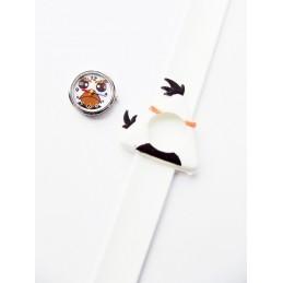 Dziecięcy zegarek silikonowy Angry Birds