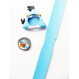 Silikonové slap hodinky motiv Yellow Bird