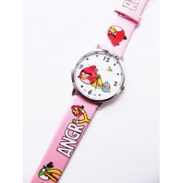 Modny zegarek z motywem Angry Birds