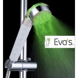 Svietiaca LED hlavica na sprchu