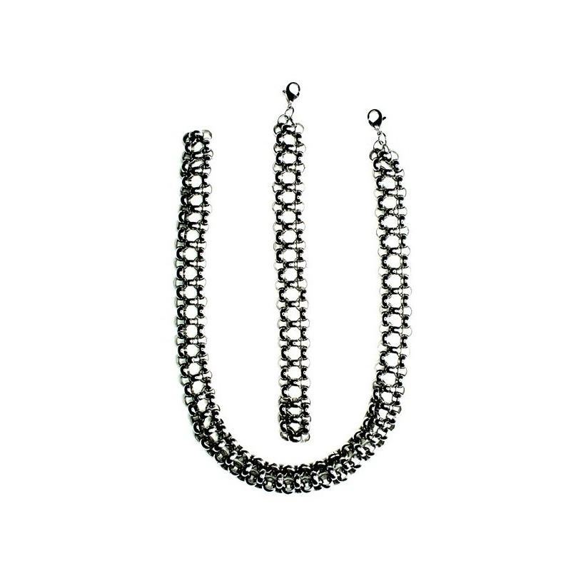 Schmuck-Set Halskette und Armband