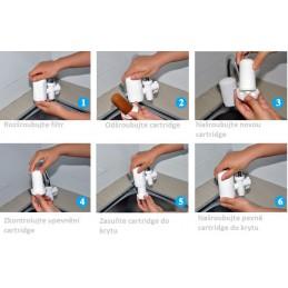 Náhradní cartridge pro keramický vodní filtr