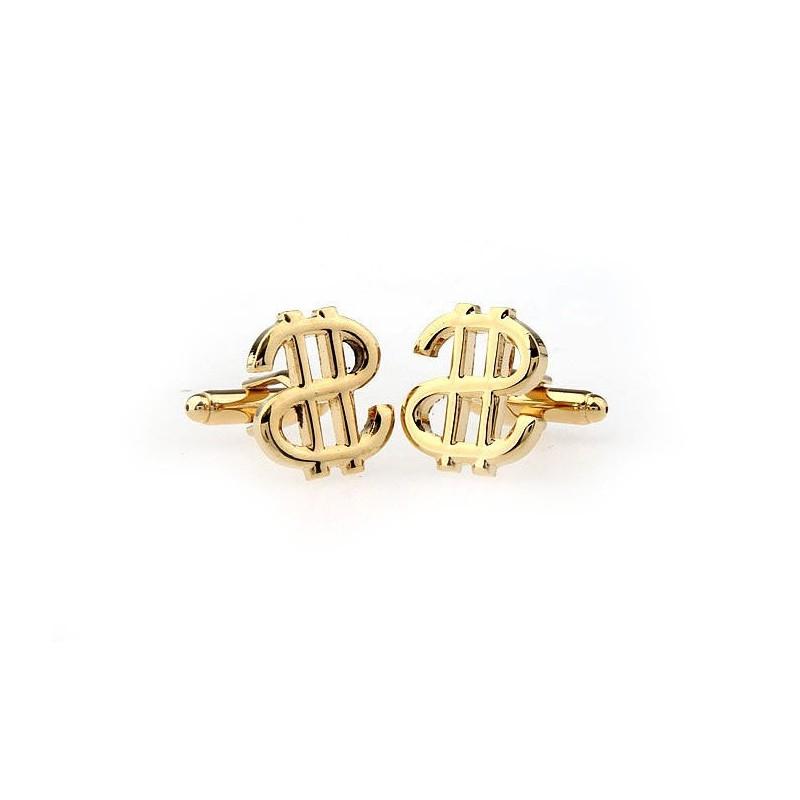 Mandzsettagombok arany dollár