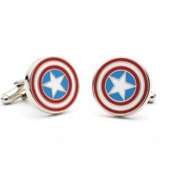 Manžetové gombíky Captain America