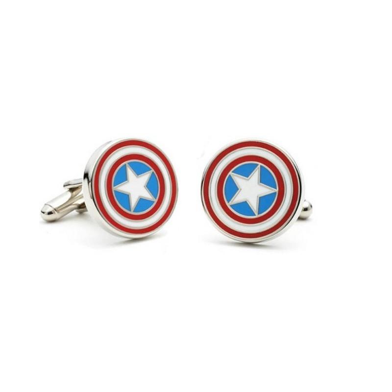 Manžetové knoflíčky Captain America