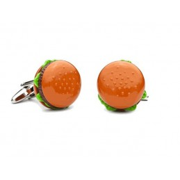 Manžetové knoflíčky hamburger