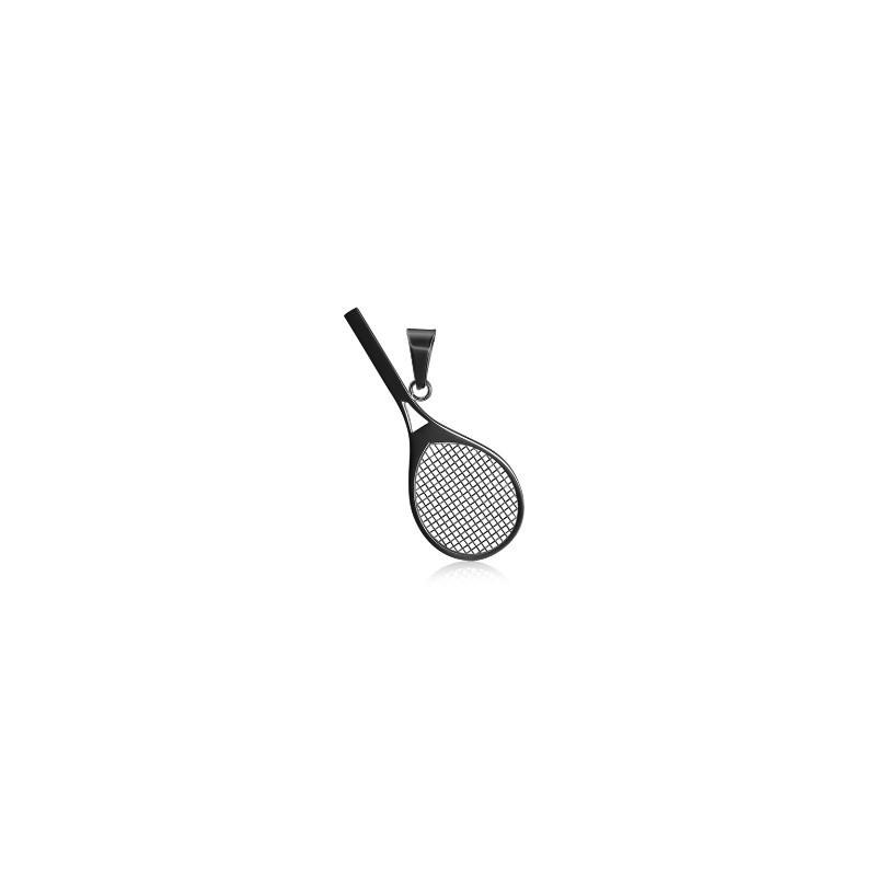 Přívěšek tenisová raketa ocel