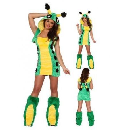 Sexy Raupe Kostüm