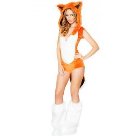 Sexy Fuchs Damenkostüm