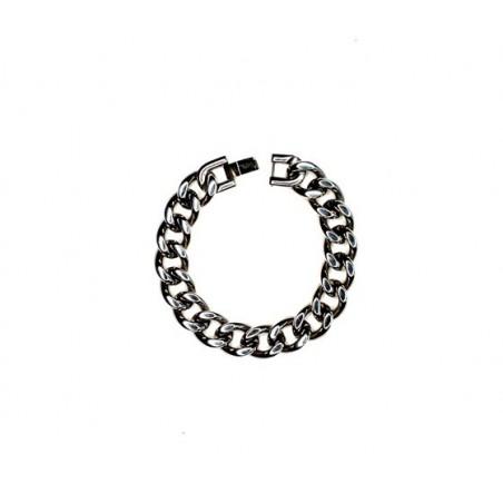 Armband aus glänzendem Edelstahl