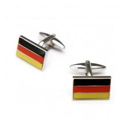Manžetové knoflíčky nemecká vlajka