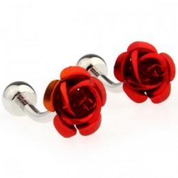 Manžetové knoflíčky růže