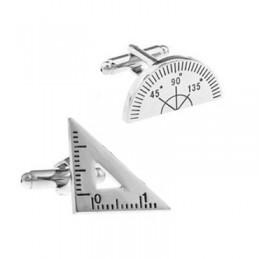 Manžetové knoflíčky Geometrie - projektant