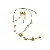 Schmuckset - Halskette und Ohrringe