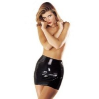 Latex Kleider und Röcke