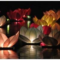 Vodné lampióny šťastia