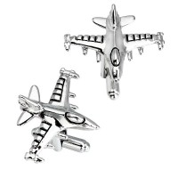 Manžetové gombíky letectvo a lietadlá