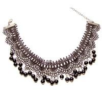 Čipkové náhrdelníky