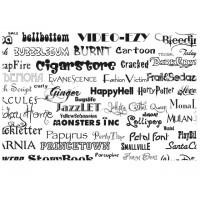 Písmo a logo na gravírování