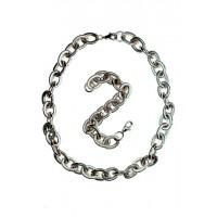 Soupravy náhrdelník a náramek z chirurgické oceli